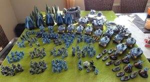Space Wolves Army