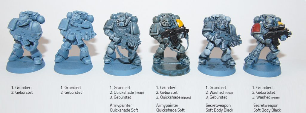 Space Wolves Shading