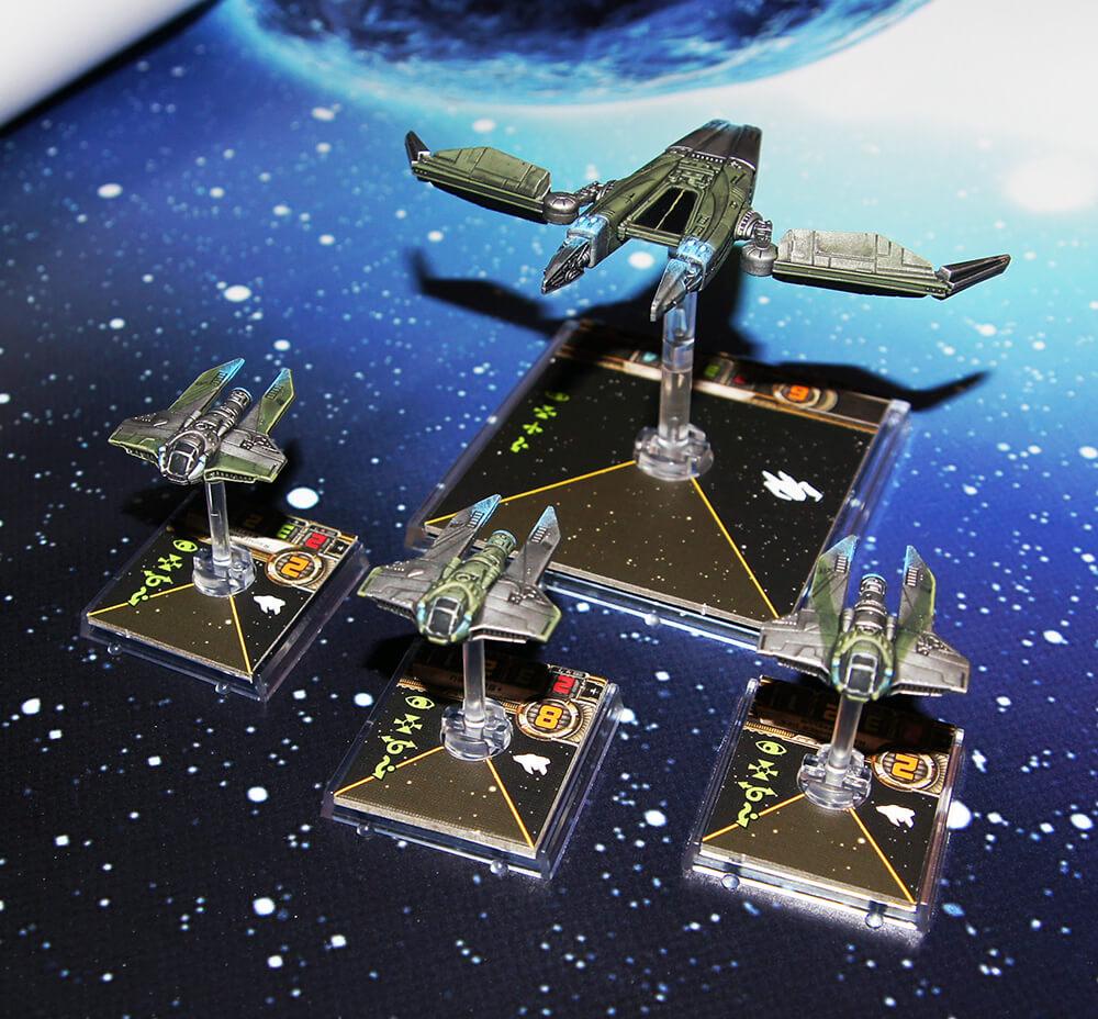 X-wing m3-A Interceptor Repaint